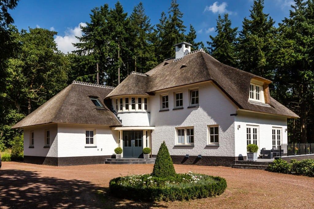 1. Rietgedekt huis bouwen, landhuis in prachtige omgeving