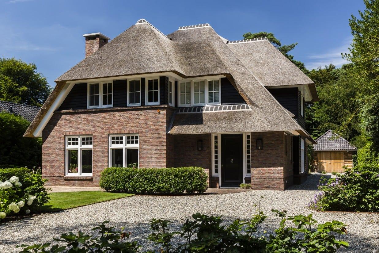 1. Rietgedekt huis bouwen, villa in Bilthoven