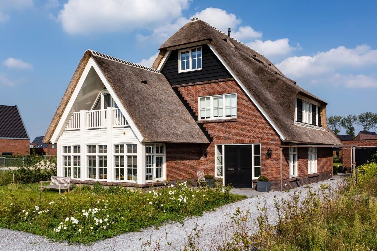 1. Rietgedekt huis bouwen, villa te Utrecht