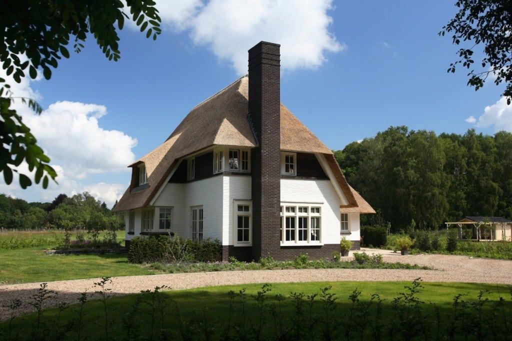 14. Rietgedekt huis bouwen, mooie villa in Lochem