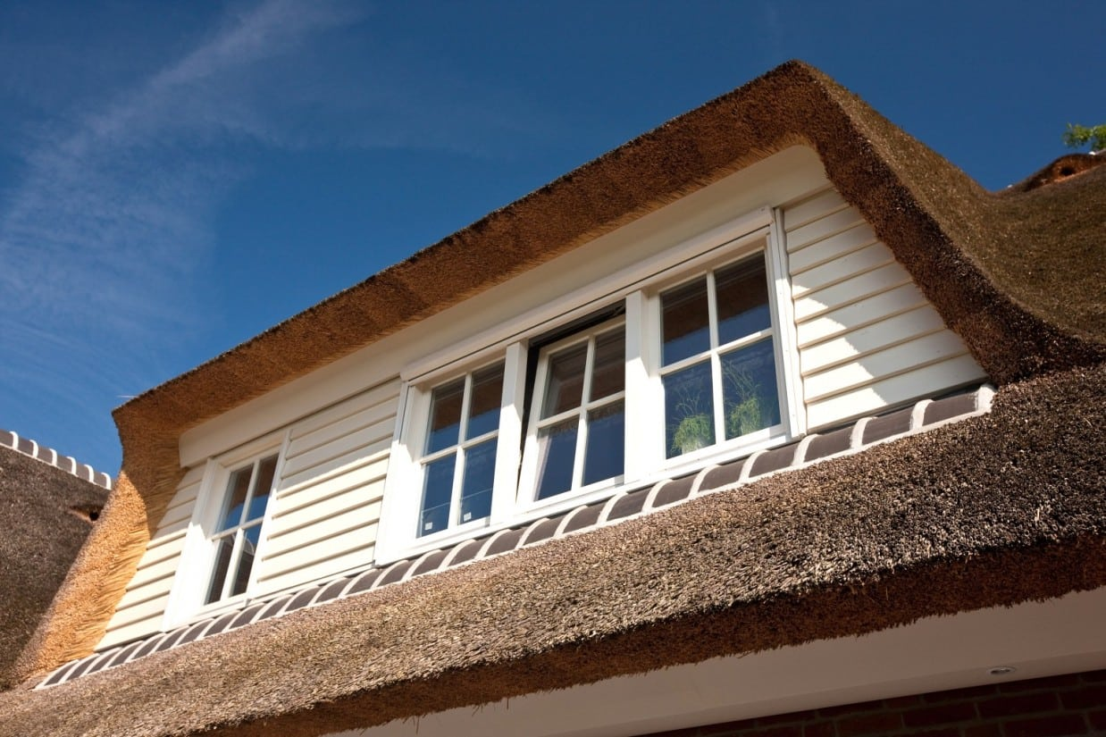 2. Rietgedekt huis bouwen Huisbouw, groot dakkapel Ugchelen