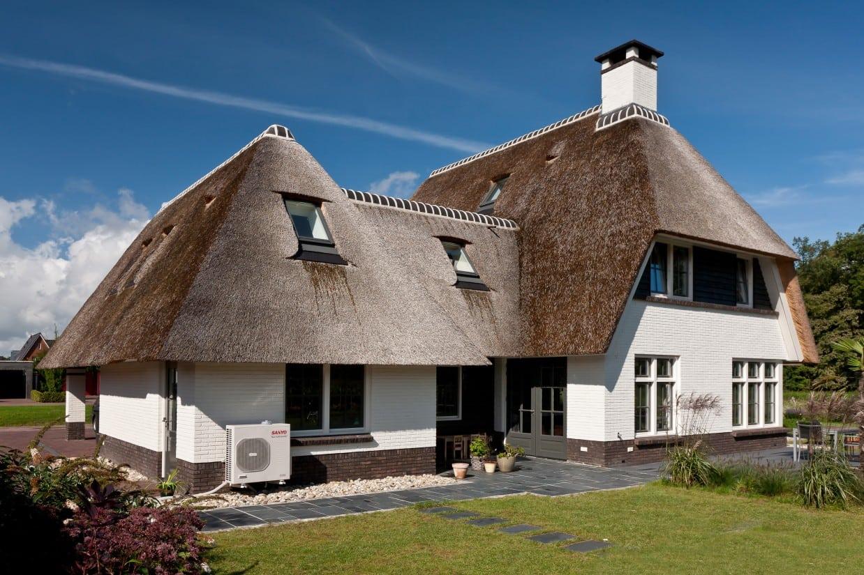 3. Rietgedekt huis bouwen Prachtige villa met tuin ontwerp Almelo