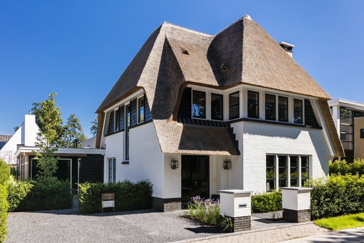 Rietgedekt huis bouwen Hooglanderveen
