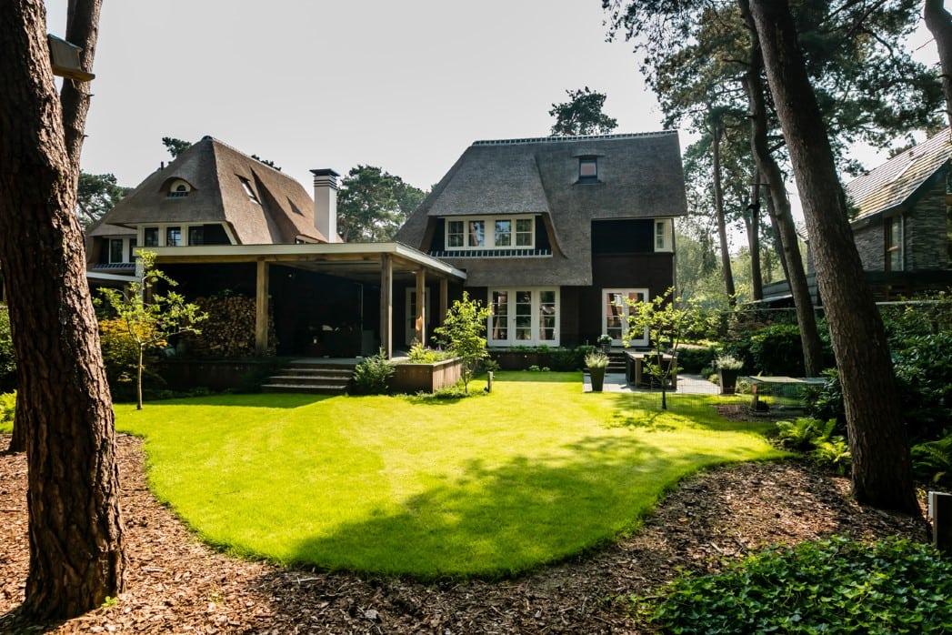 Villa te Zeist met tuin
