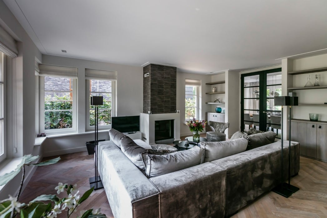 Villa te Zeist woonkamer